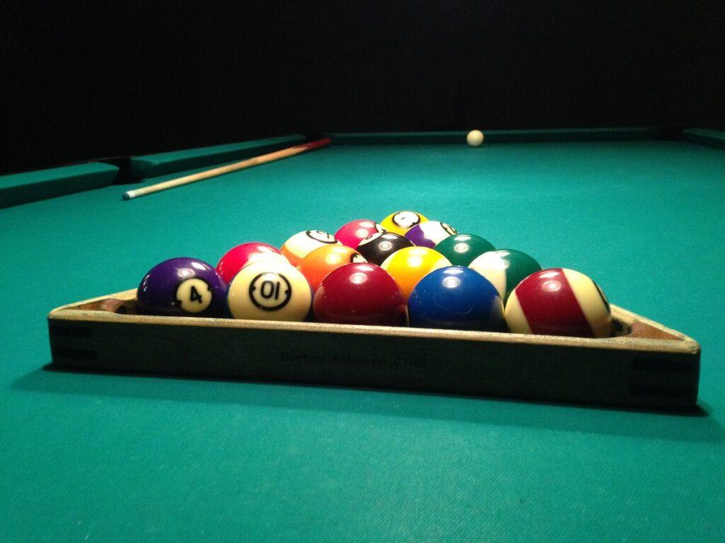 Pool Ball Frame