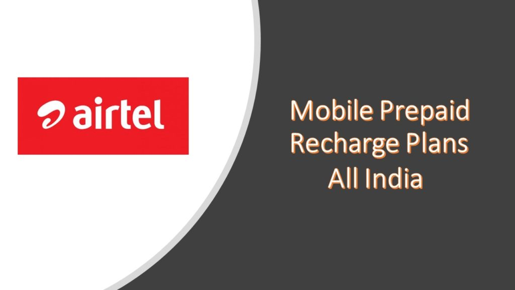 Airtel Recharge Plans